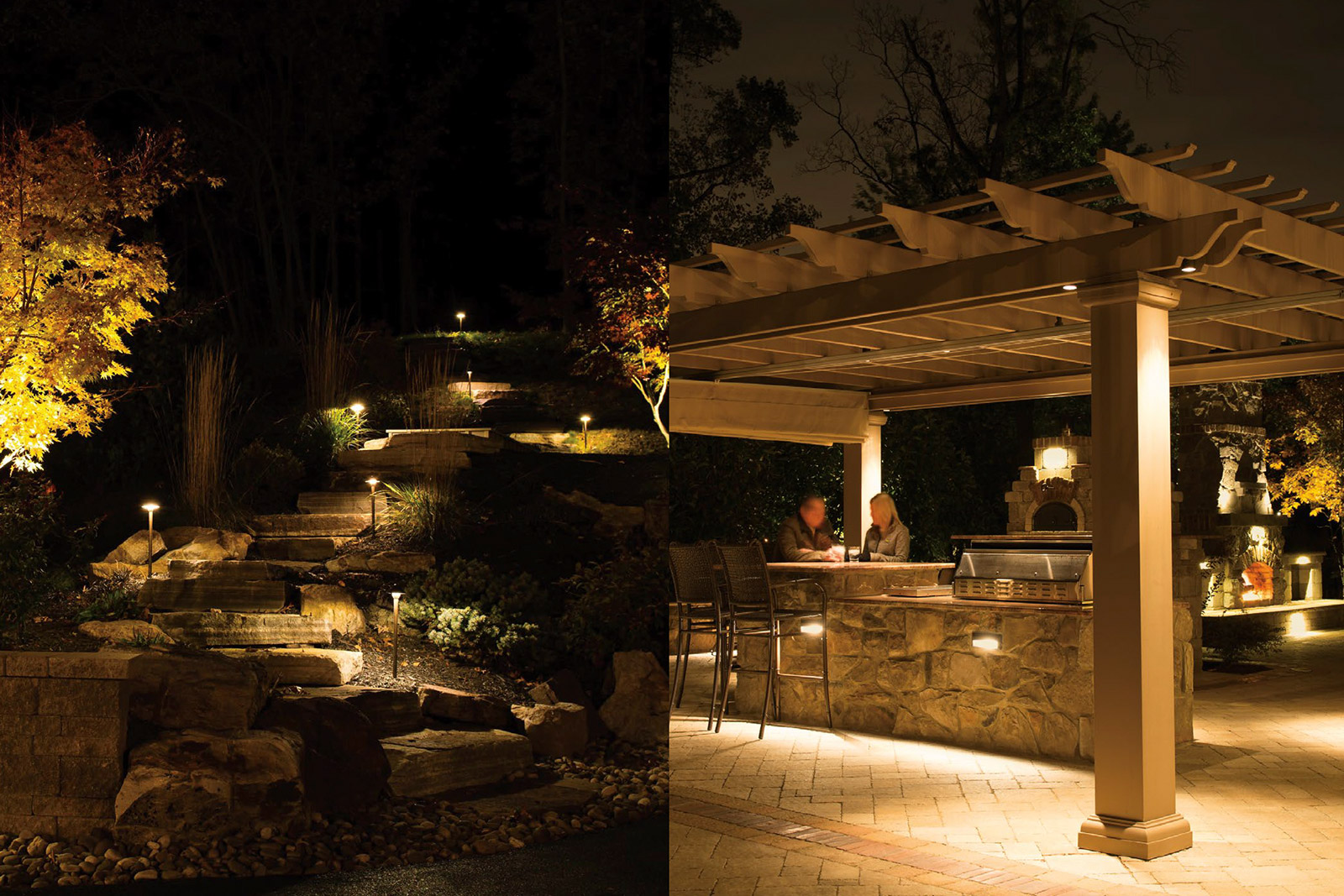 radiant lighting gallery beautiful design pool palms landscape bridge outdoor lights we install